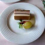レストラン楓 - セットのデザート。レストラン楓(かえで,豊田市足助町)食彩品館.jp撮影
