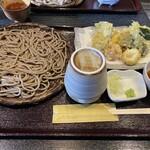 ふくね - 料理写真:野菜天もり