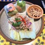 CHOMPOO - ランチセットの前菜2種