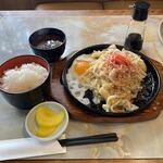 スズラン - 料理写真:焼きうどん定食860円税込