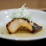 安久 - 真魚鰹の西京焼き 湯葉