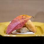 安久 - 雲子と銀杏の春巻き 海老芋