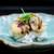 安久 - 料理写真:蛤の天ぷらの飯蒸し