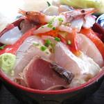 食事処よかった - 海鮮丼御飯大盛り