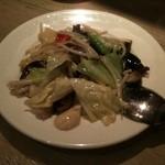 12258336 - 彩り野菜のさっぱり炒め750円