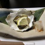 日本料理 旬坊 - 焼カキ