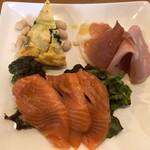 テラコッタ - Bセットの前菜3種