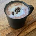 マイカフェ - ホットチョコレート¥650