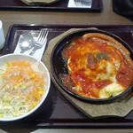 てんてん - 料理写真:トマトウインナーオムライス@900 大盛り