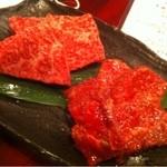 12259937 - イチボ(¥1,680)とハラミ(¥1,500)