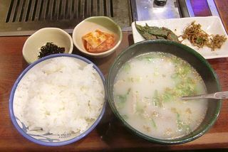 大吉 - ソルロンタン定食