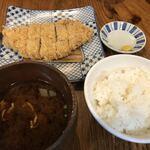 122591015 - 銘柄豚ロースかつ定食(150g)(2,400円)
