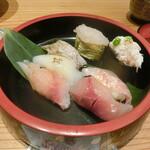 とやま鮨 - 富山ずくし7貫