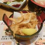 とやま鮨 - 白エビから揚げ