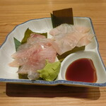 とやま鮨 - その日の昆布締め