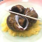海人 - バイ貝うま煮 ちゃんと食べやすいように切ってくれてありました。