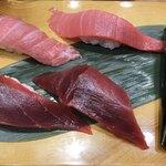 寿司の美登利総本店 - まぐろ尽くしハーフ