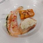 イル メルカンテ - 冷たい前菜