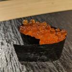 鎌倉 長谷 鮨山もと - イクラ醤油漬け