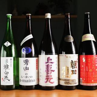 山形県の地酒を厳選しております。