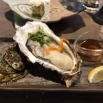 仲買人直営 弥平 - 料理写真:生牡蠣