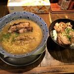 中華そば 櫓屋 - 料理写真:櫓そば  チャーシュー丼