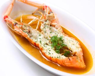 銀座 海老料理&和牛レストラン マダムシュリンプ東京 - 手長海老のスープ 南仏風