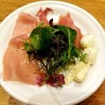 ポポラマーマ - 2種チーズとプロシュート 350円