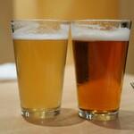 Kikuya René - 御殿場高原ビール ヴァイツェン、山口萩ビール チョンマゲビール