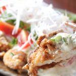 夙川 中屋 - 毎日放送「せやねん!」で紹介されました「日向鶏のチキン南蛮」 800円。