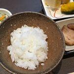 旬彩三谷 創作和柳 - 店主サン自ら作られたお米のご飯