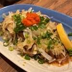 たきみ - 地鶏タタキ