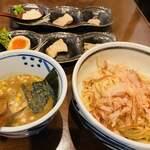 ツルモチ - 料理写真:頼んでた和風つけ麺が到着♥♥
