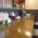 Uesutochuuka - 私は一人だったんでカウンター席でランチです。