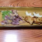 割烹 寿司魚かね - ほたるいか&貝