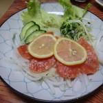 割烹 寿司魚かね - サーモン
