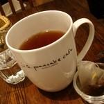 ジェイエス パンケーキカフェ - 自家製ブレンドの 紅茶
