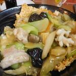 オーダー式食べ放題 本格中華 福家  横須賀中央 - 五目おこげ