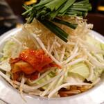 サムギョプサルともつ鍋 おくお - 韓国式もつなべ