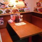 オーダー式食べ放題 本格中華 福家  横須賀中央 - 半個室席
