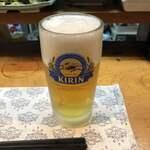 和乃家 - 生ビール