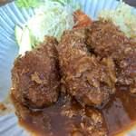 cafe&food SHIGEBAR - 料理写真:日替り肉詰めピーマン定食