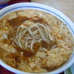 東家 - 玉子とじそばと麺