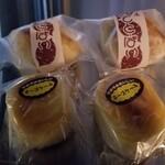 御菓子司 亀屋 - ポテトパイとチーズケーキ。