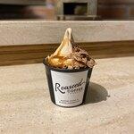 ローステッドコーヒーラボラトリー - コーヒーソフトクリーム