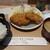とんかつ目黒こがね - 料理写真:ランチのヒレかつ定食 1,250円