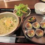 韓国居酒屋 ハルバン - キンパ&韓国ラーメン 1,100円