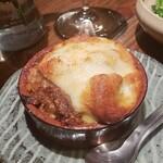 やさい×フレンチ おばんざい サンセリテ - 里芋とお野菜たっぷりカレーのチーズ焼き
