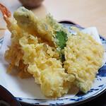 矢田部茶屋 - 天ざる