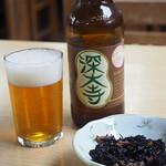 矢田部茶屋 - 深大寺ビール